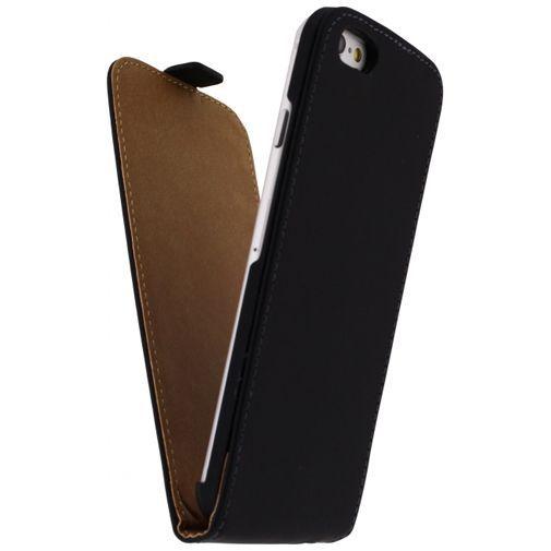 Produktimage des Mobilize Ultra Slim Flip Case Schwarz Apple iPhone 6/6S