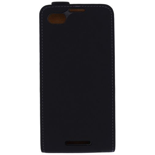 Productafbeelding van de Mobilize Ultra Slim Flip Case Black BlackBerry Z30