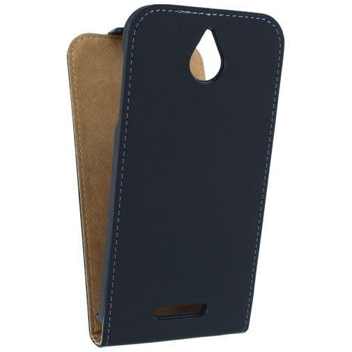 Productafbeelding van de Mobilize Ultra Slim Flip Case Black HTC Desire 510