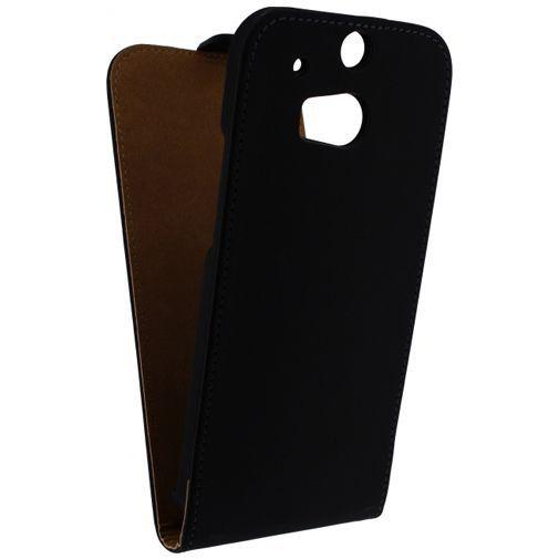 Productafbeelding van de Mobilize Ultra Slim Flip Case Black HTC One M8/M8s