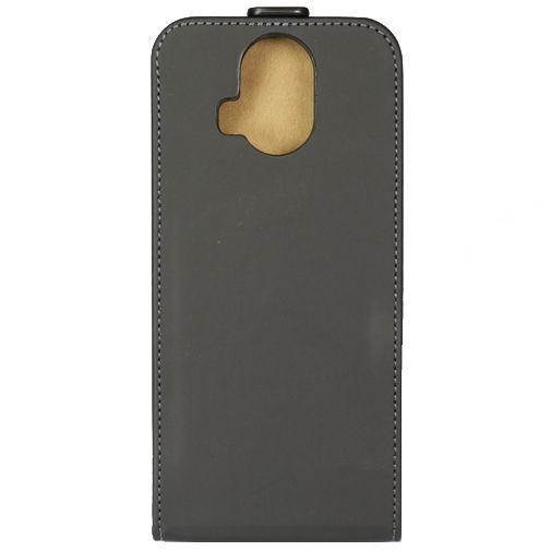Productafbeelding van de Mobilize Ultra Slim Flip Case Black HTC One M9 Plus