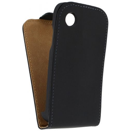 Productafbeelding van de Mobilize Ultra Slim Flip Case Black LG L40