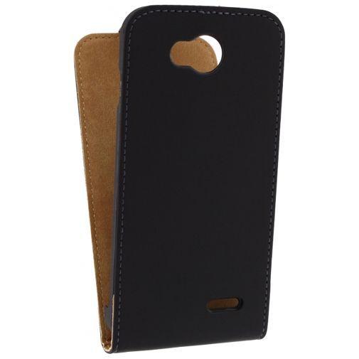 Productafbeelding van de Mobilize Ultra Slim Flip Case Black LG L90