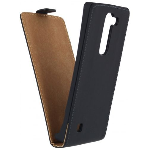 Mobilize Ultra Slim Flip Case Black LG Magna