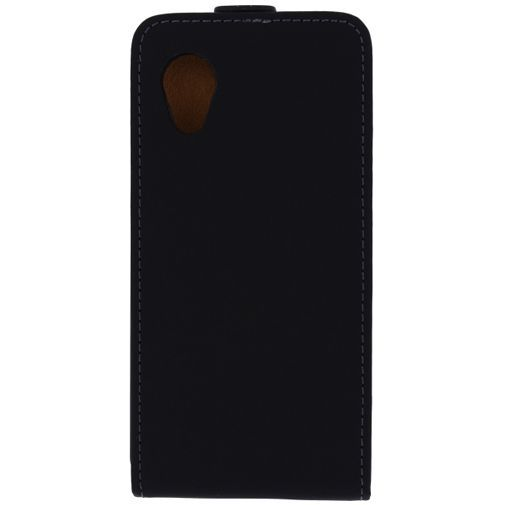 Productafbeelding van de Mobilize Ultra Slim Flip Case Black LG Nexus 5