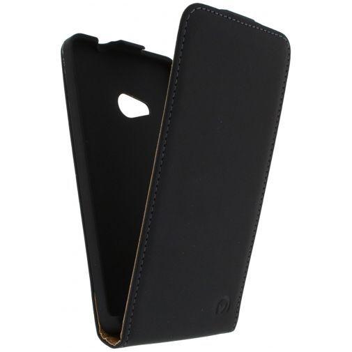 Productafbeelding van de Mobilize Ultra Slim Flip Case Black Microsoft Lumia 535