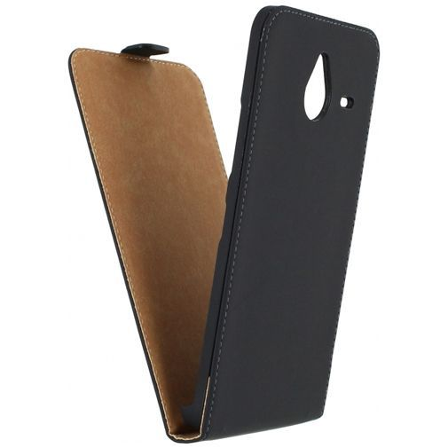 Productafbeelding van de Mobilize Ultra Slim Flip Case Black Microsoft Lumia 640 XL 4G