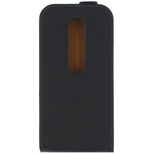 Productafbeelding van de Mobilize Classic Flip Case Black Motorola Moto G (3rd Gen)