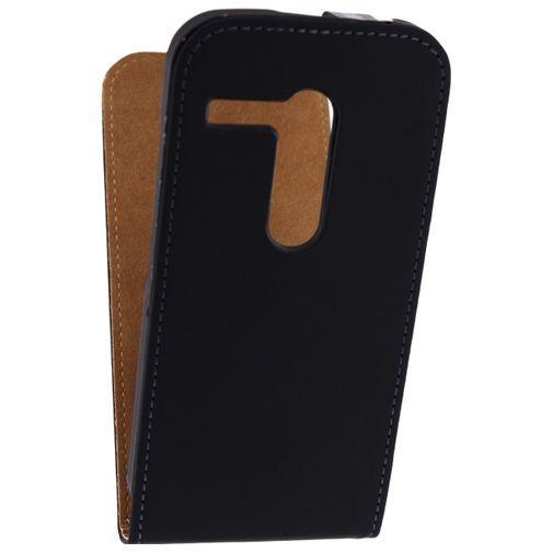 Productafbeelding van de Mobilize Ultra Slim Flip Case Black Motorola Moto G