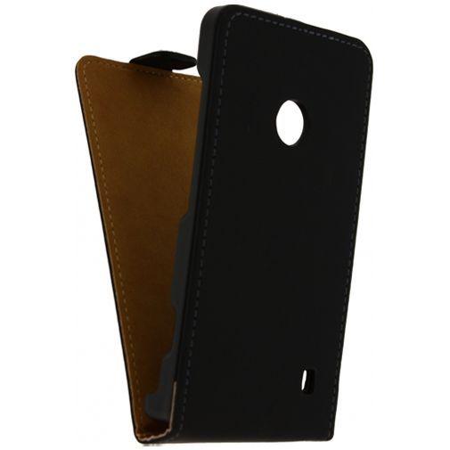 Productafbeelding van de Mobilize Ultra Slim Flip Case Black Nokia Lumia 520