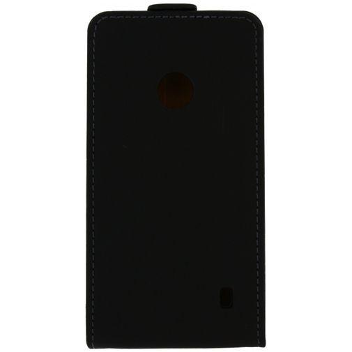 Productafbeelding van de Mobilize Ultra Slim Flip Case Black Nokia Lumia 530