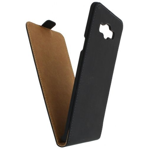 Productafbeelding van de Mobilize Ultra Slim Flip Case Black Samsung Galaxy A7