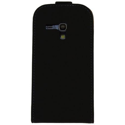 Productafbeelding van de Mobilize Ultra Slim Flip Case Black Samsung Galaxy S3 Mini (VE)