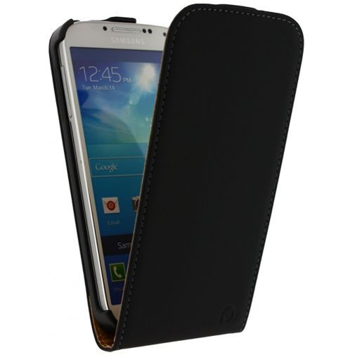 Productafbeelding van de Mobilize Ultra Slim Flip Case Black Samsung Galaxy S4