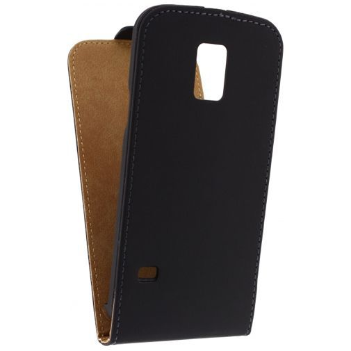 Productafbeelding van de Mobilize Ultra Slim Flip Case Black Samsung Galaxy S5 Mini