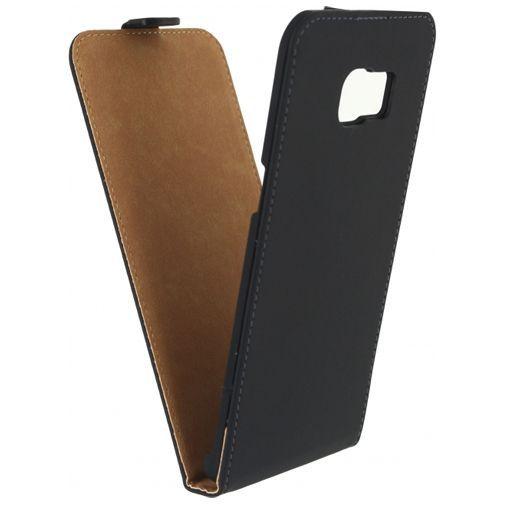 Productafbeelding van de Mobilize Ultra Slim Flip Case Black Samsung Galaxy S6 Edge Plus