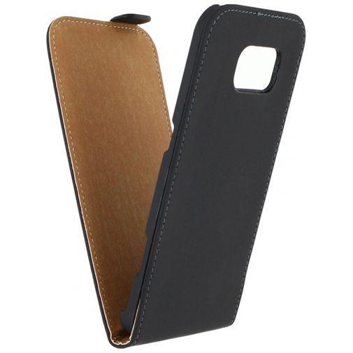 Productafbeelding van de Mobilize Ultra Slim Flip Case Black Samsung Galaxy S6