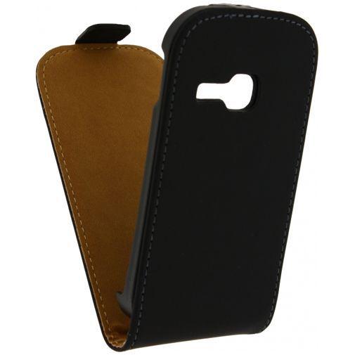 Productafbeelding van de Mobilize Ultra Slim Flip Case Black Samsung Galaxy Young