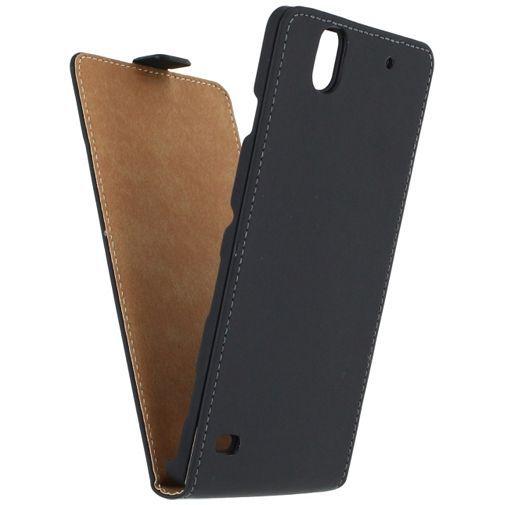 Productafbeelding van de Mobilize Ultra Slim Flip Case Black Sony Xperia C4