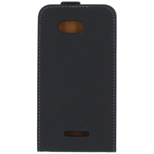 Productafbeelding van de Mobilize Ultra Slim Flip Case Black Sony Xperia E4G
