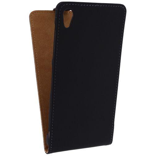 Productafbeelding van de Mobilize Ultra Slim Flip Case Black Sony Xperia Z2