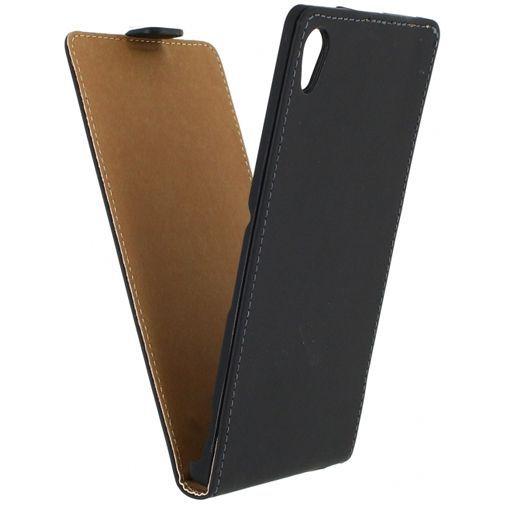 Productafbeelding van de Mobilize Ultra Slim Flip Case Black Sony Xperia Z3 Plus