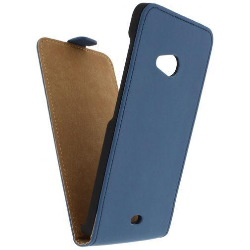 Productafbeelding van de Mobilize Ultra Slim Flip Case Blue Microsoft Lumia 535