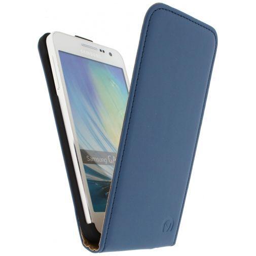 Productafbeelding van de Mobilize Ultra Slim Flip Case Blue Samsung Galaxy A3