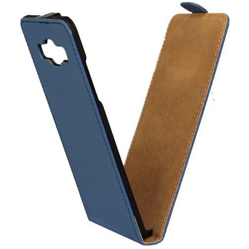 Productafbeelding van de Mobilize Ultra Slim Flip Case Blue Samsung Galaxy A5