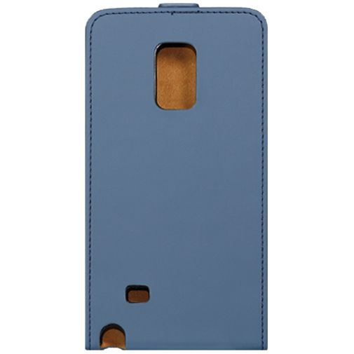 Productafbeelding van de Mobilize Ultra Slim Flip Case Blue Samsung Galaxy Note Edge