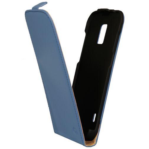 Productafbeelding van de Mobilize Ultra Slim Flip Case Blue Samsung Galaxy S5 Active