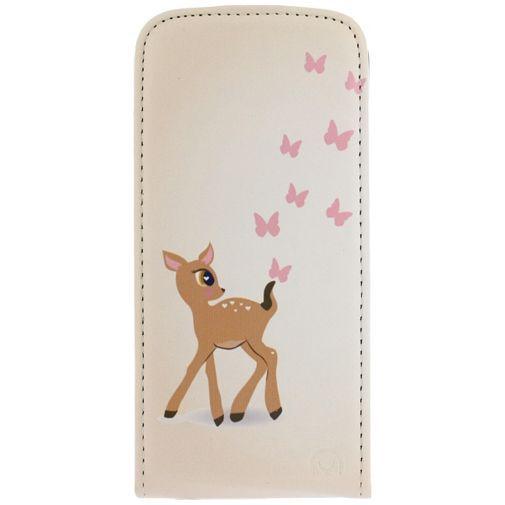 Productafbeelding van de Mobilize Ultra Slim Flip Case Deer Apple iPhone 6/6S