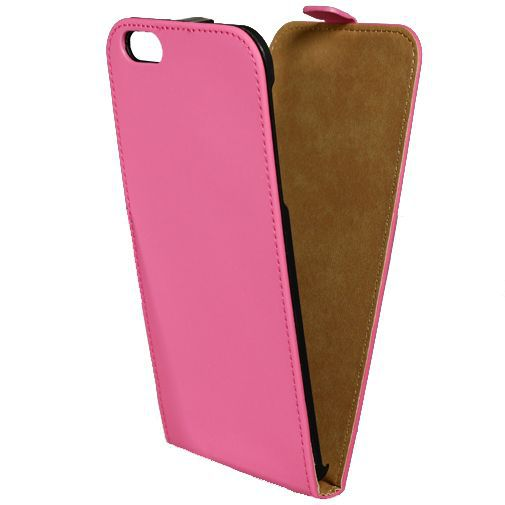 Productafbeelding van de Mobilize Ultra Slim Flip Case Fuchsia Apple iPhone 6 Plus/6S Plus