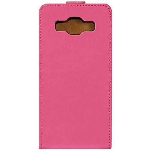 Productafbeelding van de Mobilize Ultra Slim Flip Case Fuchsia Samsung Galaxy A5