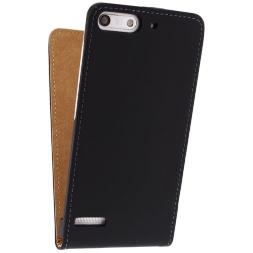 Productafbeelding van de Mobilize Ultra Slim Flip Case Huawei Ascend G6 Black