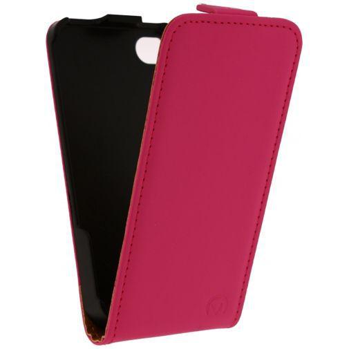 Productafbeelding van de Mobilize Ultra Slim Flip Case Pink Apple iPhone 4/4S
