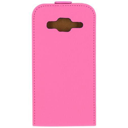 Productafbeelding van de Mobilize Ultra Slim Flip Case Pink Samsung Galaxy Core Prime