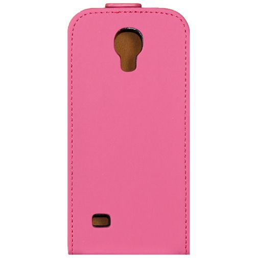 Productafbeelding van de Mobilize Ultra Slim Flip Case Pink Samsung Galaxy S4 Mini