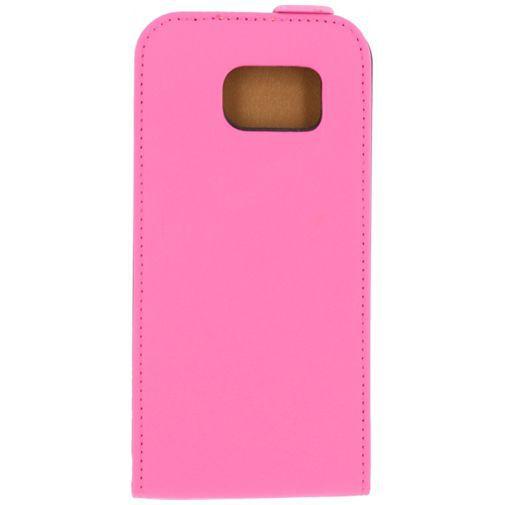 Productafbeelding van de Mobilize Ultra Slim Flip Case Pink Samsung Galaxy S6