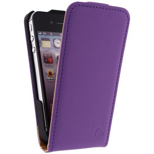 Productafbeelding van de Mobilize Ultra Slim Flip Case Purple Apple iPhone 4/4S