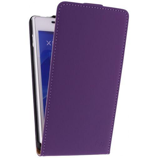 Productafbeelding van de Mobilize Ultra Slim Flip Case Sony Xperia M2 Purple