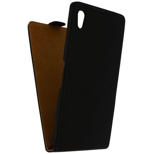 Productafbeelding van de Mobilize Ultra Slim Flip Case Black Sony Xperia Z1