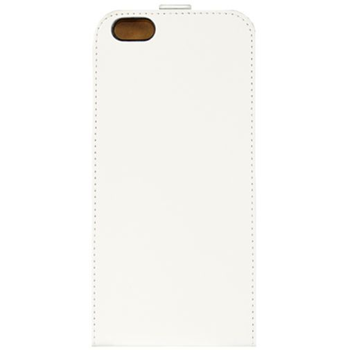 Productafbeelding van de Mobilize Ultra Slim Flip Case White Apple iPhone 6 Plus/6S Plus