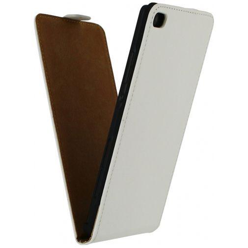 Productafbeelding van de Mobilize Ultra Slim Flip Case White Huawei P8