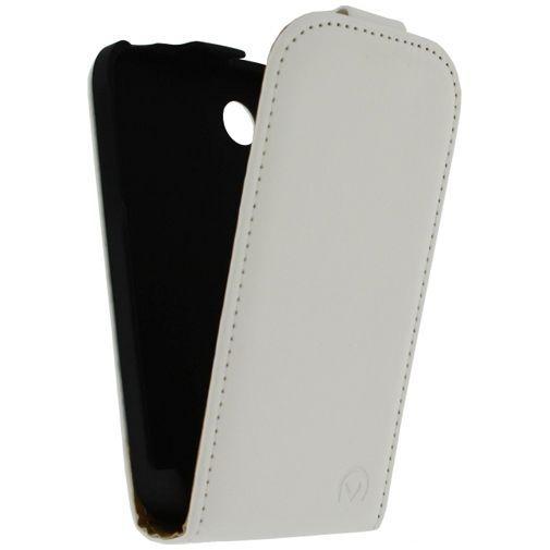 Productafbeelding van de Mobilize Ultra Slim Flip Case White LG L40