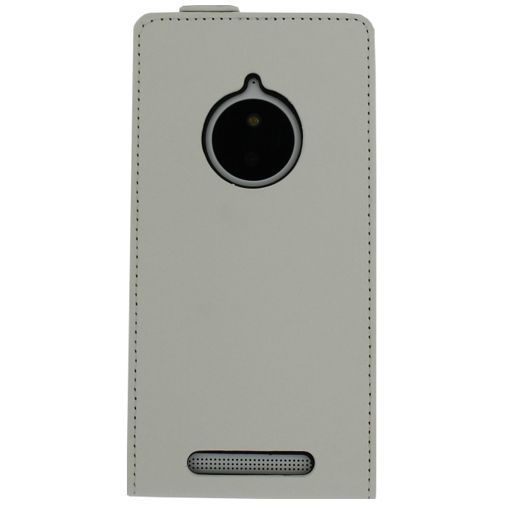 Productafbeelding van de Mobilize Ultra Slim Flip Case White Lumia 830