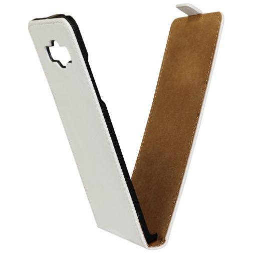 Productafbeelding van de Mobilize Ultra Slim Flip Case White Samsung Galaxy A5