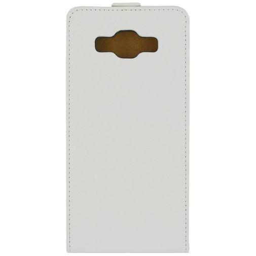 Productafbeelding van de Mobilize Ultra Slim Flip Case White Samsung Galaxy A7