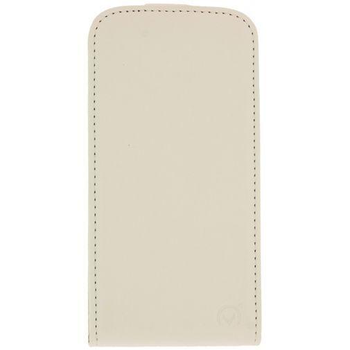 Productafbeelding van de Mobilize Ultra Slim Flip Case White Samsung Galaxy Core 2
