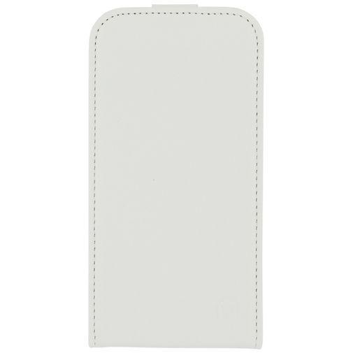 Productafbeelding van de Mobilize Ultra Slim Flip Case White Samsung Galaxy Core Prime (VE)
